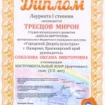 диплом Тресцов М.