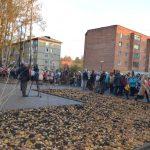 В Назарово открыли новый сквер