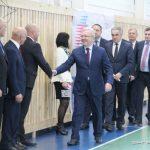 В Назарово открыли новый спортивный центр.