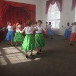 Отчётный концерт школы салонного танца.