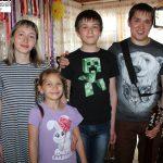 ВИА «Славяне» дали концерт на Линёво.