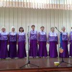Выступление народного вокального ансамбля «Раздолье» в геронтологическом центре «Тонус»