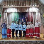 Концерт в День защитника Отечества.