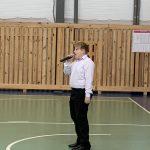 Открытие турнира по волейболу.